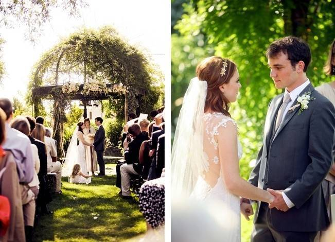 Utah Backyard Garden Wedding {Pepper Nix Photography} 13