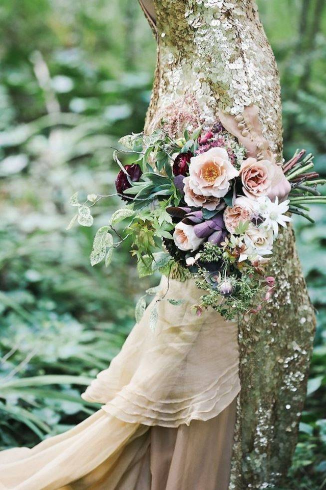 12 Rustic Autumn Wedding Bouquets to Fall For 10