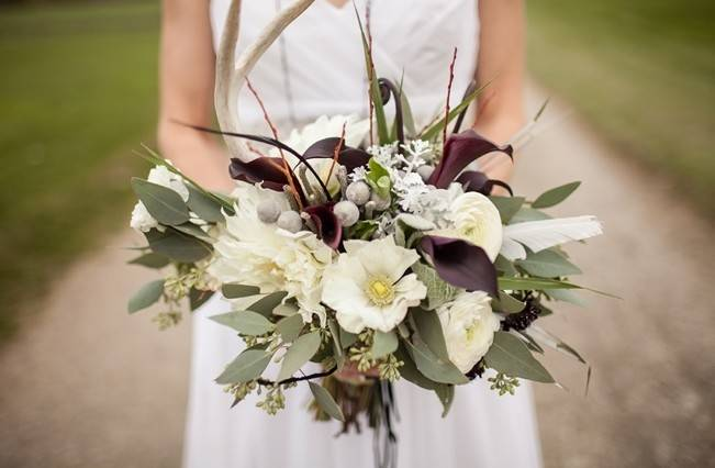 12 Rustic Autumn Wedding Bouquets to Fall For 4
