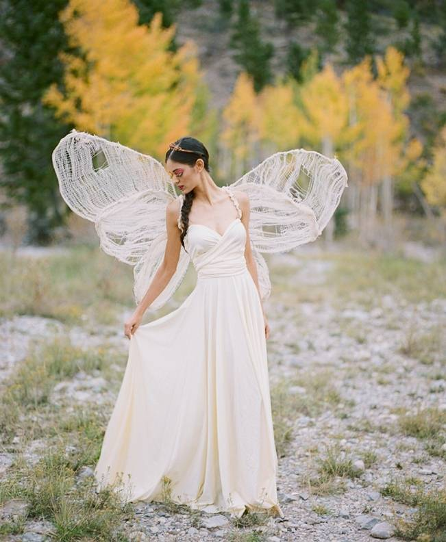 A Woodland Romance – Autumn Fairy Bride {Gaby J Photography} 1