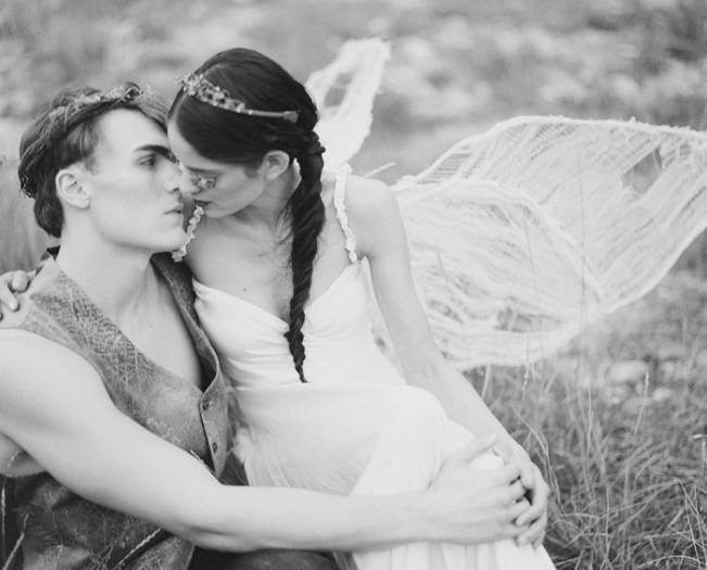 A Woodland Romance – Autumn Fairy Bride {Gaby J Photography} 11
