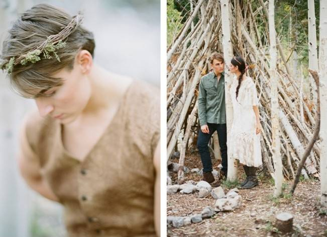 A Woodland Romance – Autumn Fairy Bride {Gaby J Photography} 12