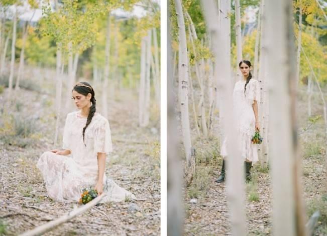 A Woodland Romance – Autumn Fairy Bride {Gaby J Photography} 13