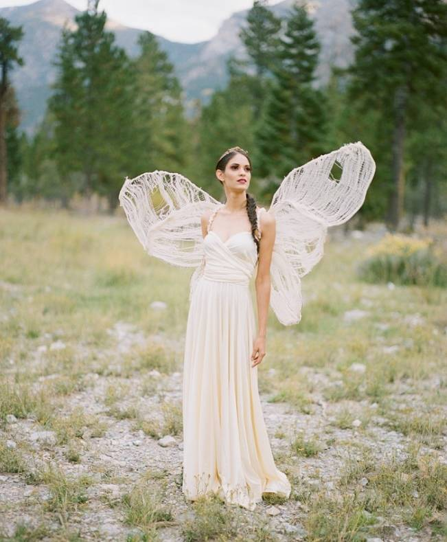 A Woodland Romance – Autumn Fairy Bride {Gaby J Photography} 14