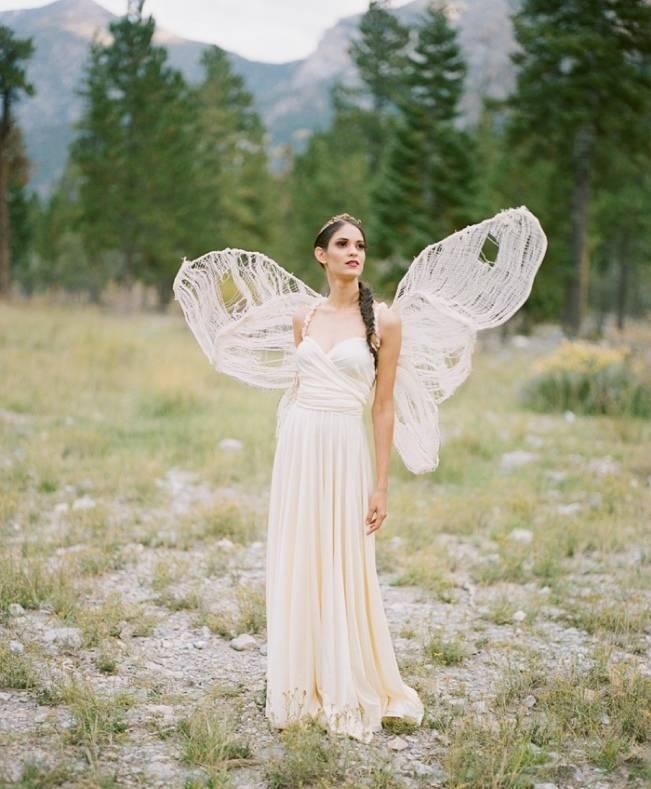 A Woodland Romance – Autumn Fairy Bride {Gaby J Photography} 14