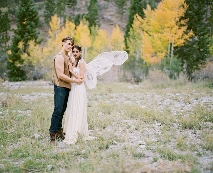 A Woodland Romance – Autumn Fairy Bride {Gaby J Photography} 16