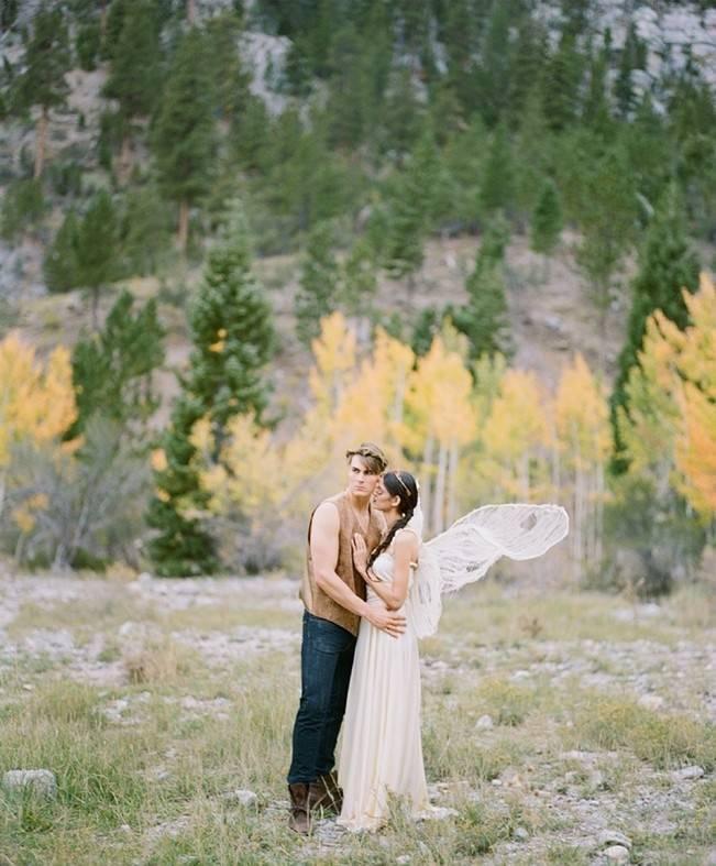 A Woodland Romance – Autumn Fairy Bride {Gaby J Photography} 2