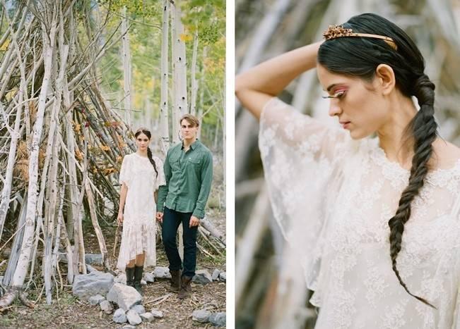 A Woodland Romance – Autumn Fairy Bride {Gaby J Photography} 3