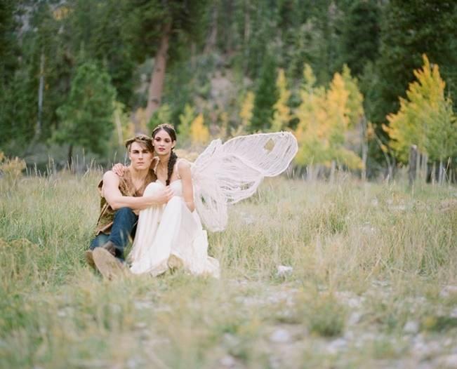 A Woodland Romance – Autumn Fairy Bride {Gaby J Photography} 4
