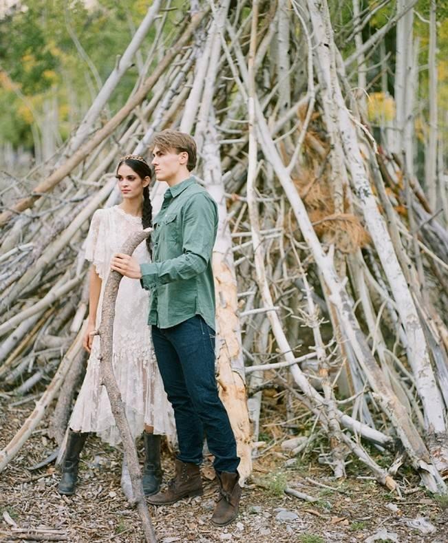 A Woodland Romance – Autumn Fairy Bride {Gaby J Photography} 5