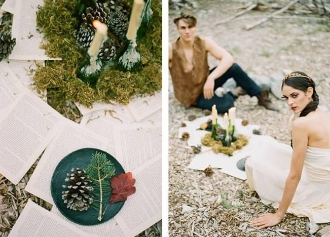 A Woodland Romance – Autumn Fairy Bride {Gaby J Photography} 6