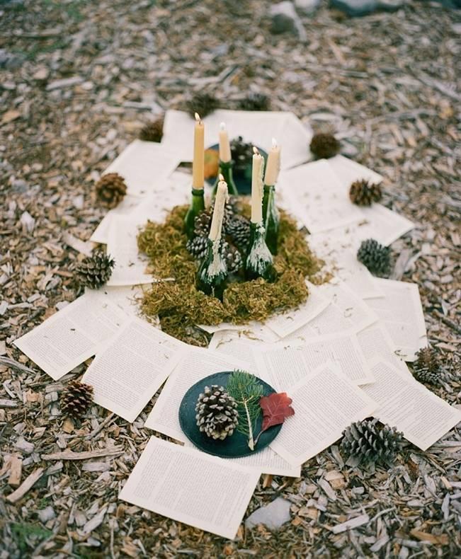 A Woodland Romance – Autumn Fairy Bride {Gaby J Photography} 7