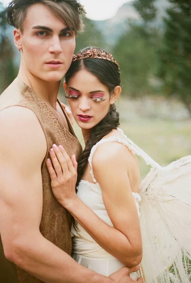 A Woodland Romance – Autumn Fairy Bride {Gaby J Photography} 9