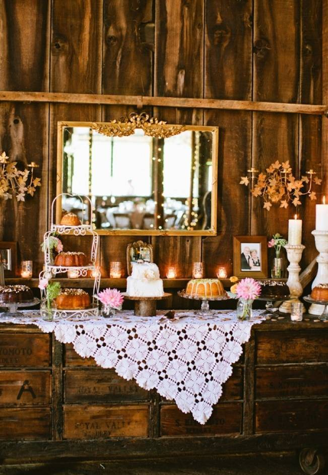 Autumn-Inspired Wedding Dessert Tables 10