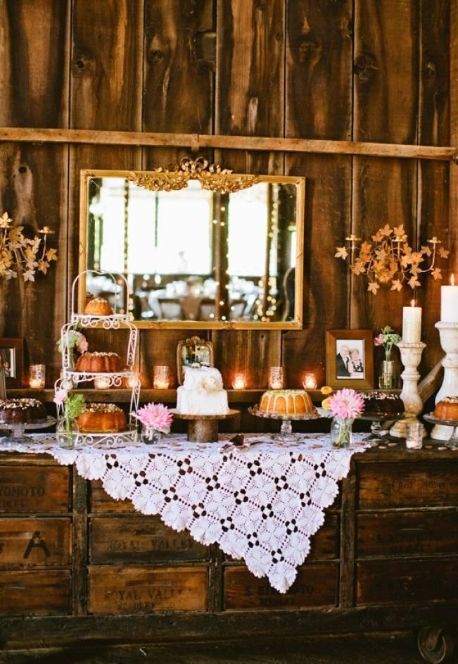 Autumn-Inspired Wedding Dessert Tables 10