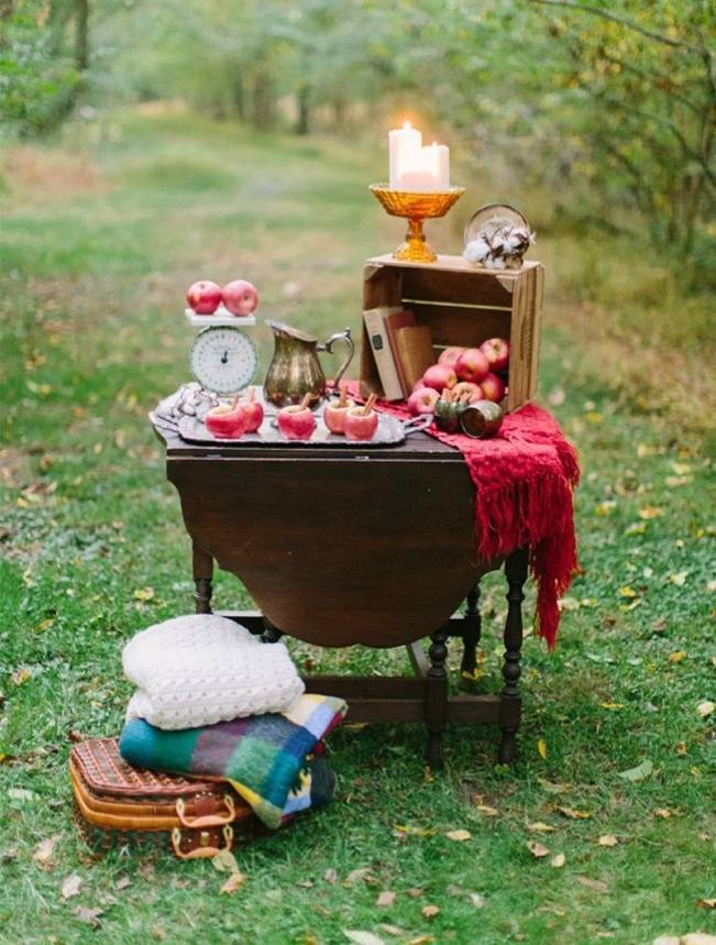 Autumn-Inspired Wedding Dessert Tables 5