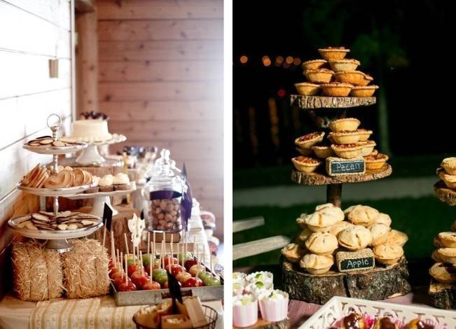 Autumn-Inspired Wedding Dessert Tables 7