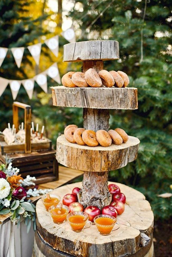 Autumn-Inspired Wedding Dessert Tables 8