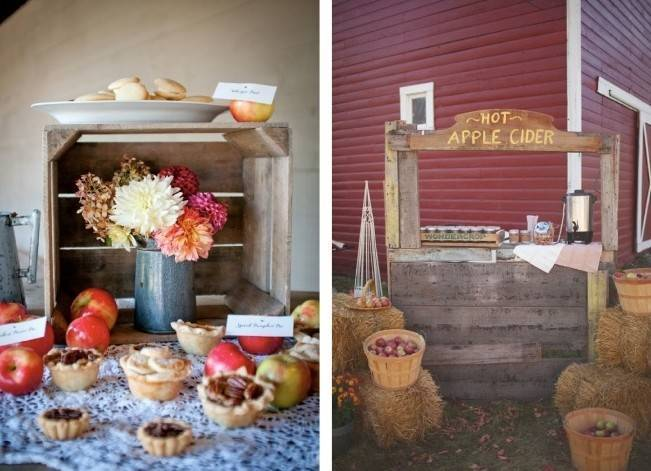 Autumn-Inspired Wedding Dessert Tables 9