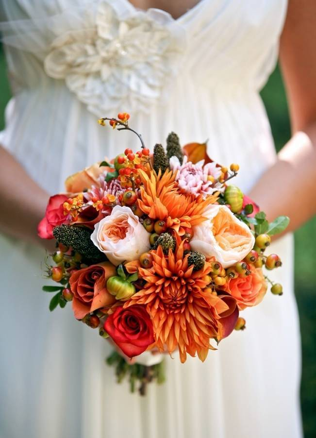 Autumn Wedding at Log Haven {Pepper Nix Photography}