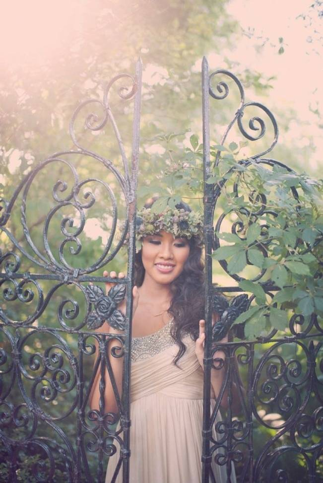 Ethereal Secret Garden Bridal Shoot {Joyeuse Photography}