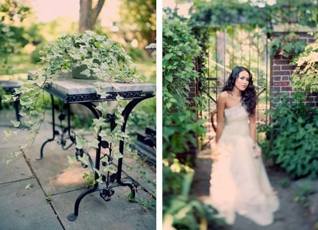 Ethereal Secret Garden Bridal Shoot {Joyeuse Photography} 10
