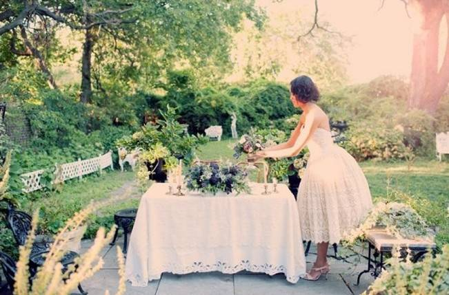 Ethereal Secret Garden Bridal Shoot {Joyeuse Photography} 15