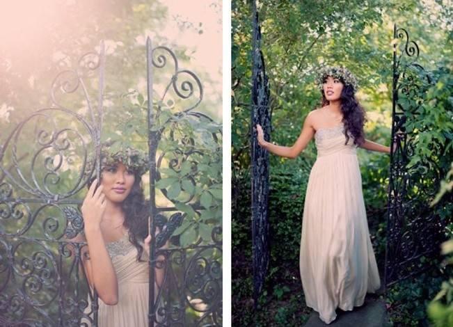 Ethereal Secret Garden Bridal Shoot {Joyeuse Photography} 2