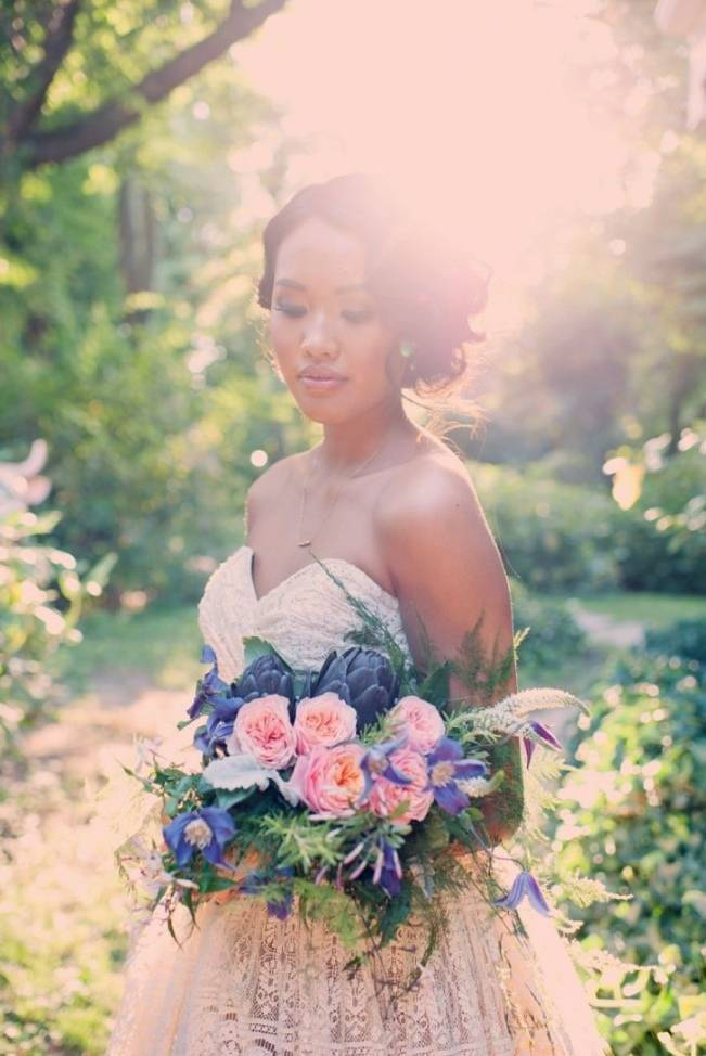 Ethereal Secret Garden Bridal Shoot {Joyeuse Photography} 25