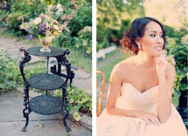 Ethereal Secret Garden Bridal Shoot {Joyeuse Photography} 26
