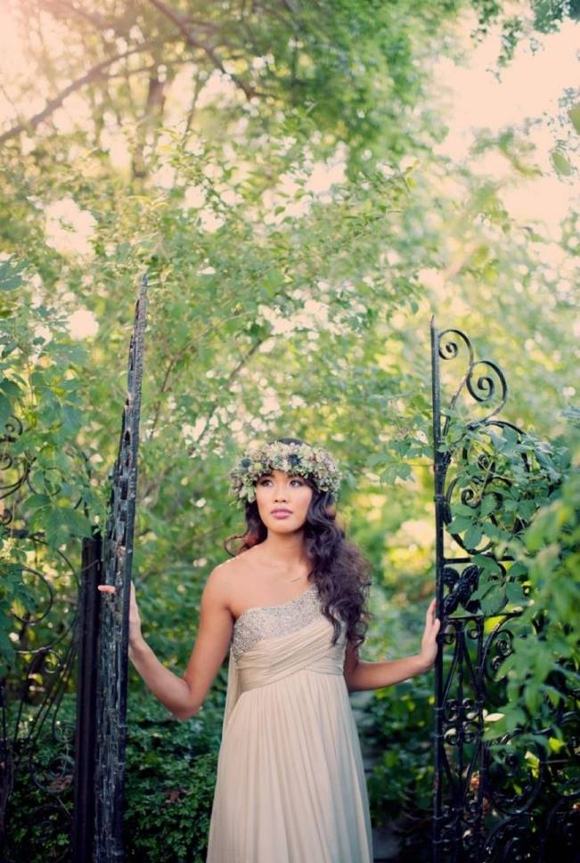 Ethereal Secret Garden Bridal Shoot {Joyeuse Photography} 27