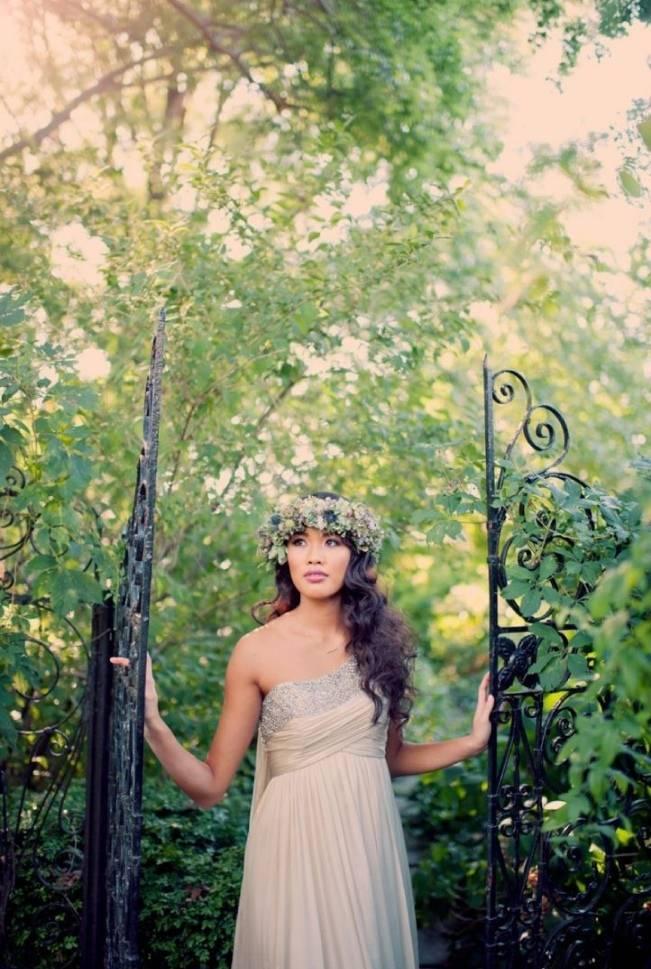Ethereal Secret Garden Bridal Shoot {Joyeuse Photography} 27