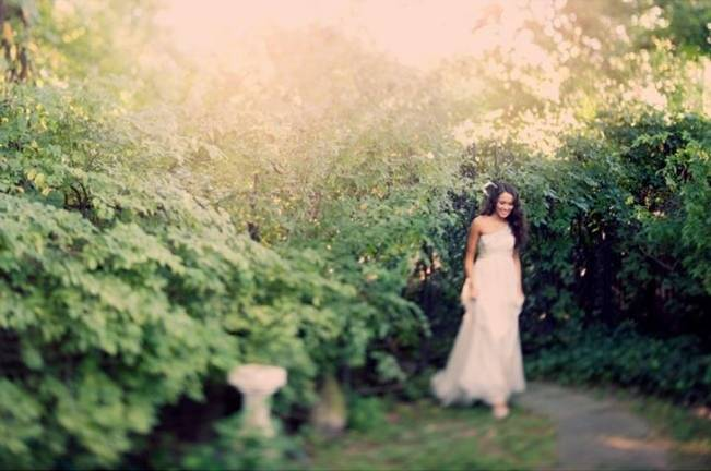 Ethereal Secret Garden Bridal Shoot {Joyeuse Photography} 3