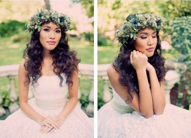 Ethereal Secret Garden Bridal Shoot {Joyeuse Photography} 4
