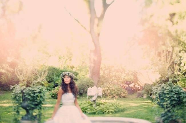Ethereal Secret Garden Bridal Shoot {Joyeuse Photography} 5