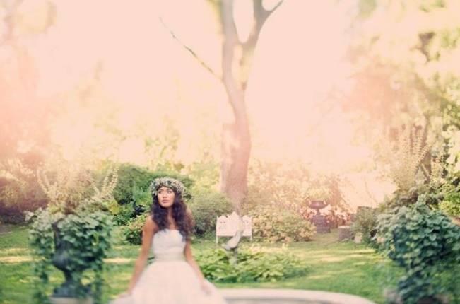 Ethereal Secret Garden Bridal Shoot {Joyeuse Photography} 5