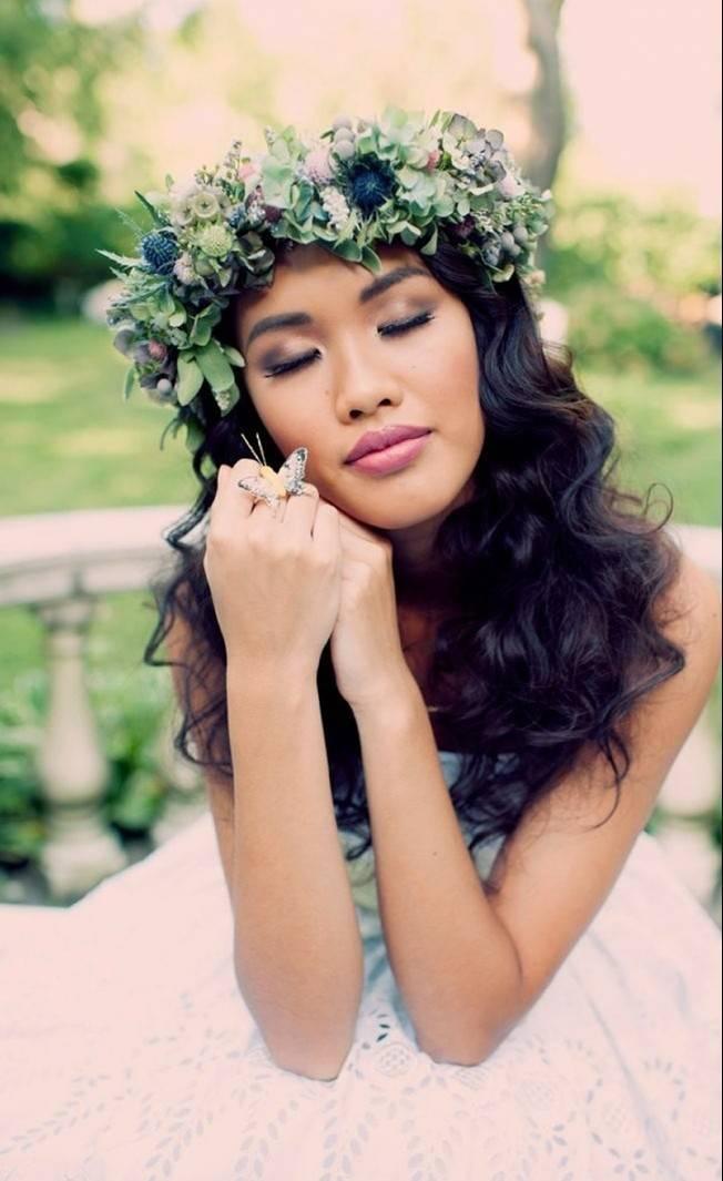 Ethereal Secret Garden Bridal Shoot {Joyeuse Photography} 6