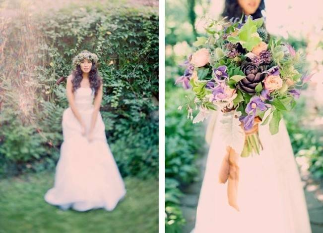 Ethereal Secret Garden Bridal Shoot {Joyeuse Photography} 8