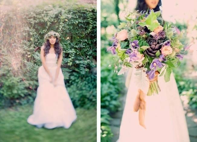 Ethereal Secret Garden Bridal Shoot {Joyeuse Photography} 8