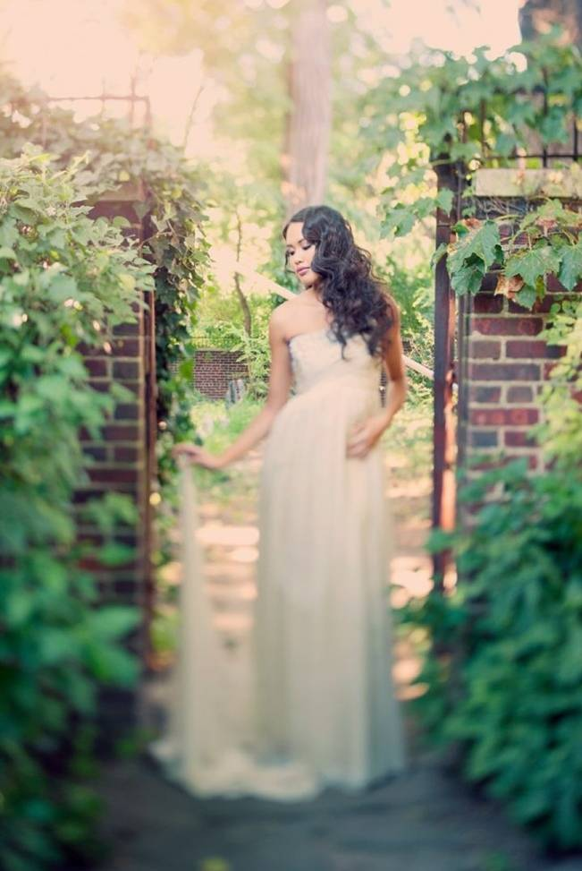 Ethereal Secret Garden Bridal Shoot {Joyeuse Photography} 9