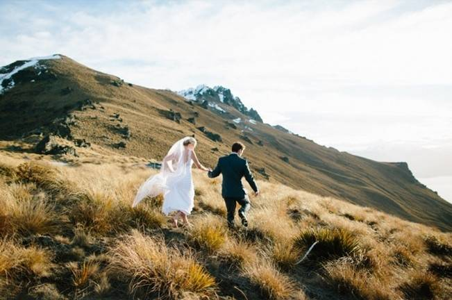 New Zealand Mountain Wedding at Jacks Point {Alpine Image Co.} 20