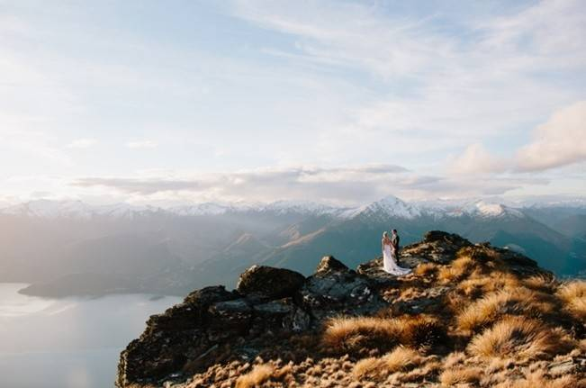 New Zealand Mountain Wedding at Jacks Point {Alpine Image Co.} 23