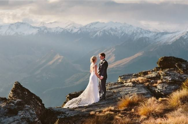 New Zealand Mountain Wedding at Jacks Point {Alpine Image Co.} 24