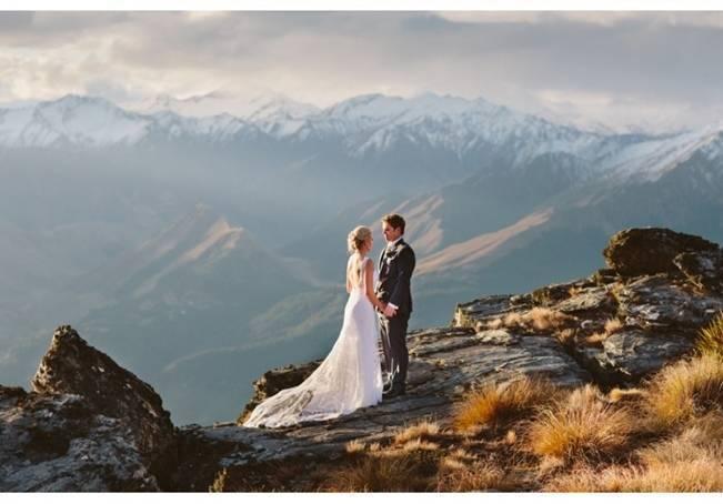 New Zealand Mountain Wedding at Jacks Point {Alpine Image Co.} 24