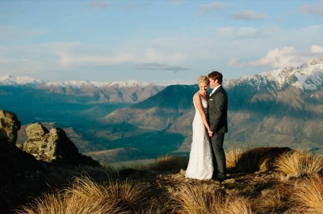 New Zealand Mountain Wedding at Jacks Point {Alpine Image Co.} 27