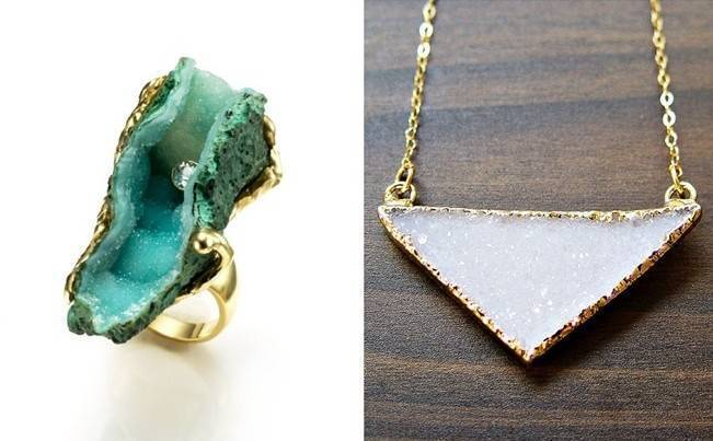 Raw Stone Jewelry for Your Bridal Party 4
