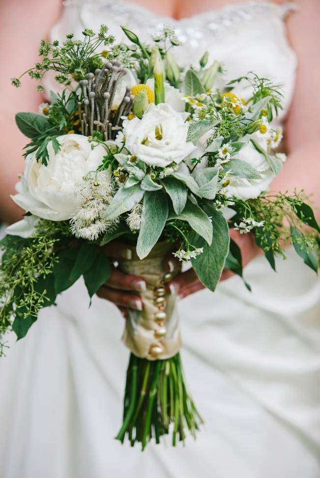 Rustic Yellow + Gray Vermont Wedding {Colette Kulig Photography}