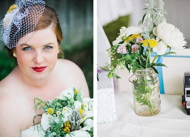 Rustic Yellow + Blue Vermont Wedding {Colette Kulig Photography} 12
