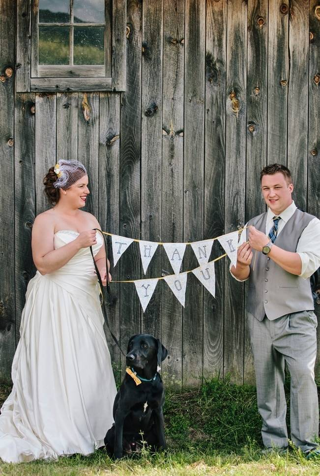 Rustic Yellow + Blue Vermont Wedding {Colette Kulig Photography} 13