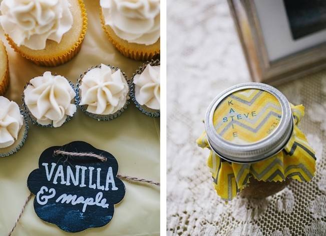 Rustic Yellow + Blue Vermont Wedding {Colette Kulig Photography} 16